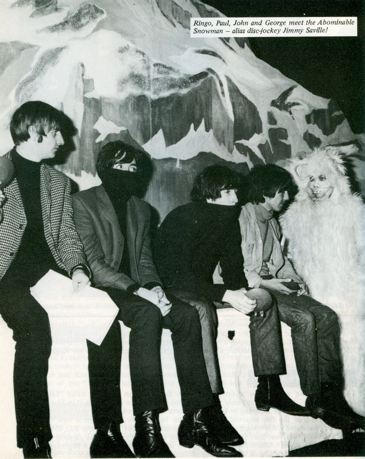 20th December 1964. The Beatles rehearse their Christmas show, at London's Hammersmith Odeon.