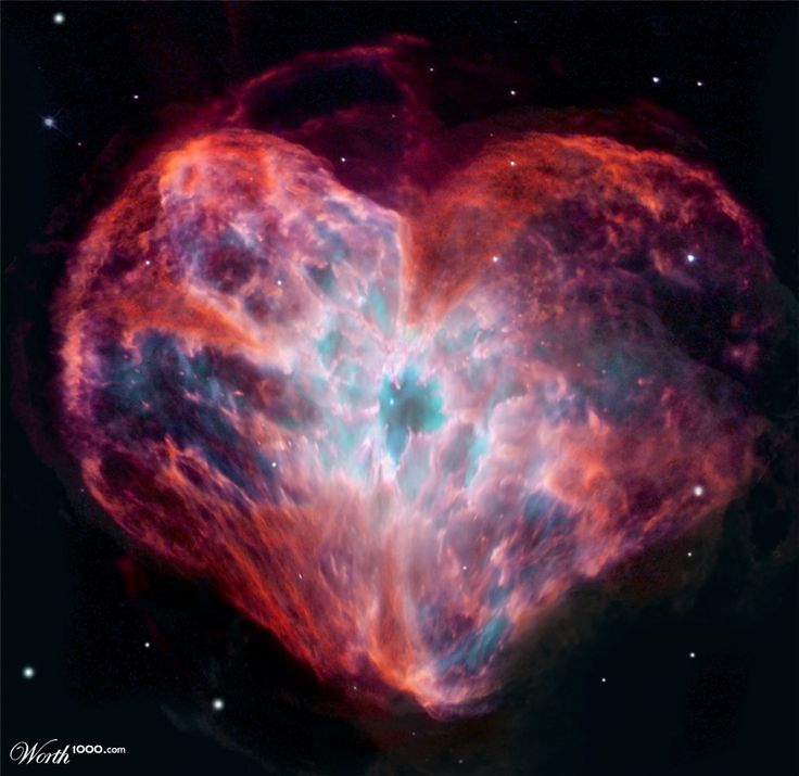 Heart Shaped Nebula | 8th place entry in Hearts 5