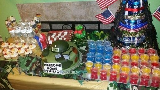 25 best ideas about welcome home soldier on pinterest for Military welcome home party decorations