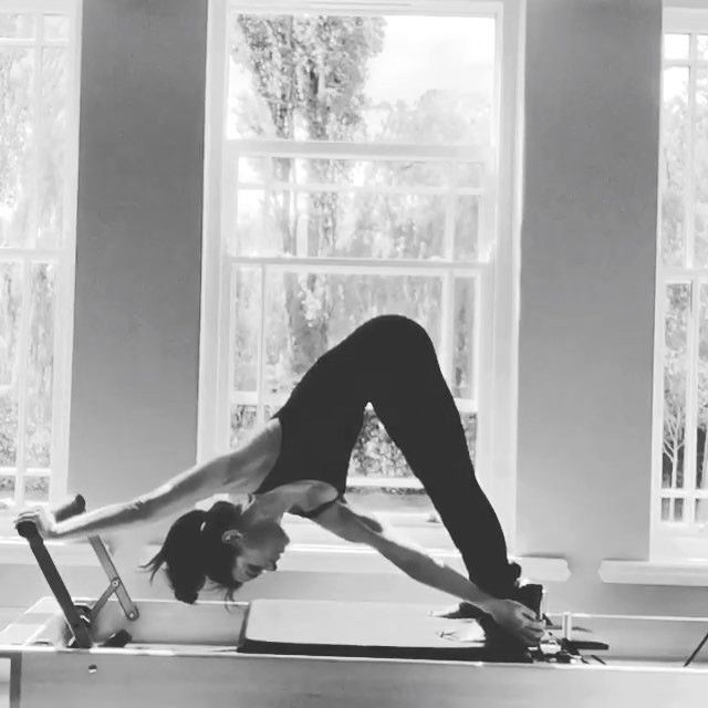 You have to try this!  Reformer Twist