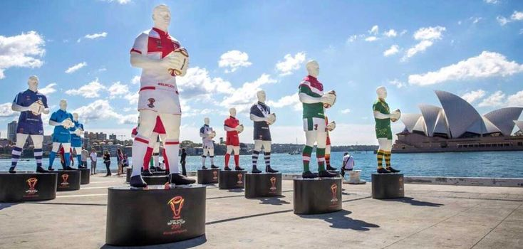 Rugby League World Cup 2017 - Player Lanterns -