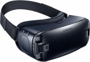 Samsung - Gear VR for Select Samsung Cell Phones - Blue Black - Angle Zoom