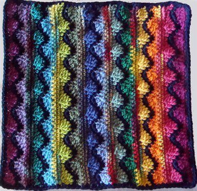 Zig Zag Crochet Baby Blanket Pattern Free : Ripple Afghans -- Free Crochet Patterns and Design ...