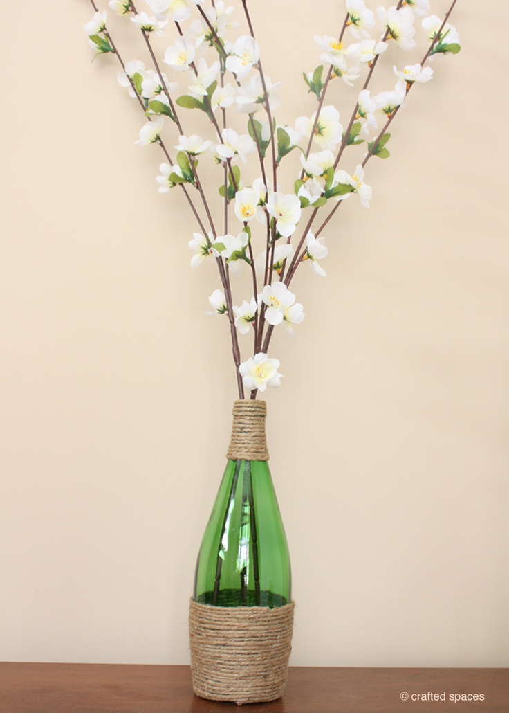 1000 ideas about recycled glass bottles on pinterest - How to recycle glass bottles ...