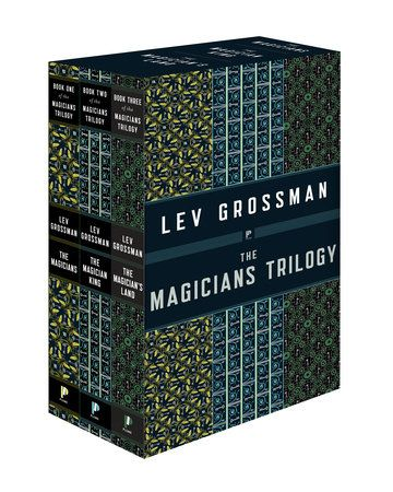 THE MAGICIANS TRILOGY BOXED SET by Lev Grossman -- The entire #1 New York Times bestselling Magicians trilogy, including The Magicians, The Magician King, and The Magician's Land, now available in a gorgeous boxed set