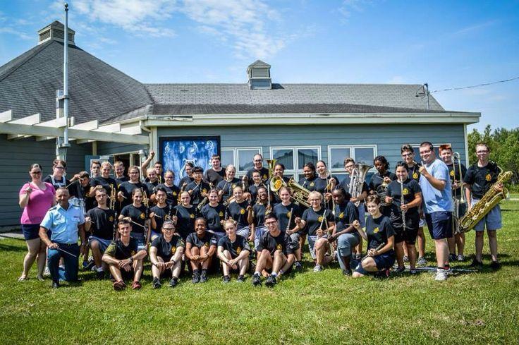 Classe de maître avec les cadets de la BFC Valcartier - Captain Christian Richer , photo par l'équipe des relations publiques du camp des cadets Valcartier