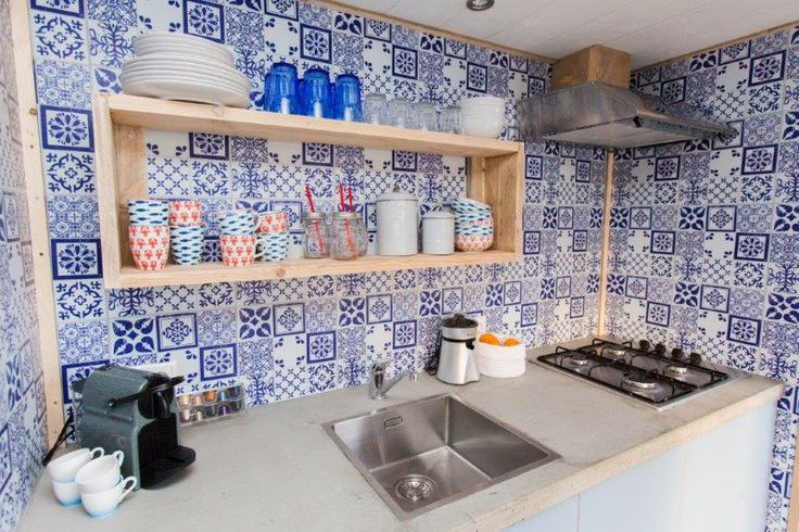 Kitchen ocean lodge #stoerbuiten