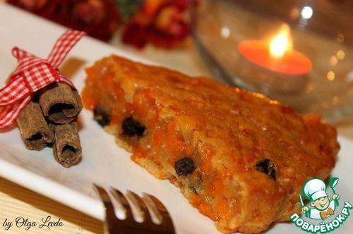 """Желейный пирог из тыквы """"Шехерезада"""""""