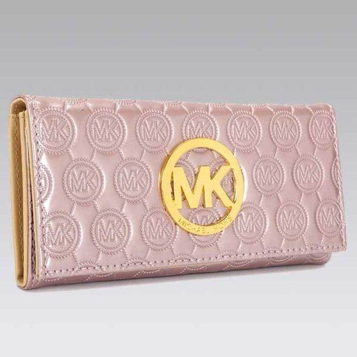 MICHAEL Michael Kors Jet Set Continental Pink Wallet