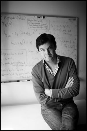 "Thomas Piketty, Capital in the 21st Century. ""When the rate of return on capital exceeds the rate of growth of output and income...capitalism automatically generates arbitrary and unsustainable inequalities that radically undermine the meritocratic values on which democratic societies are based."""