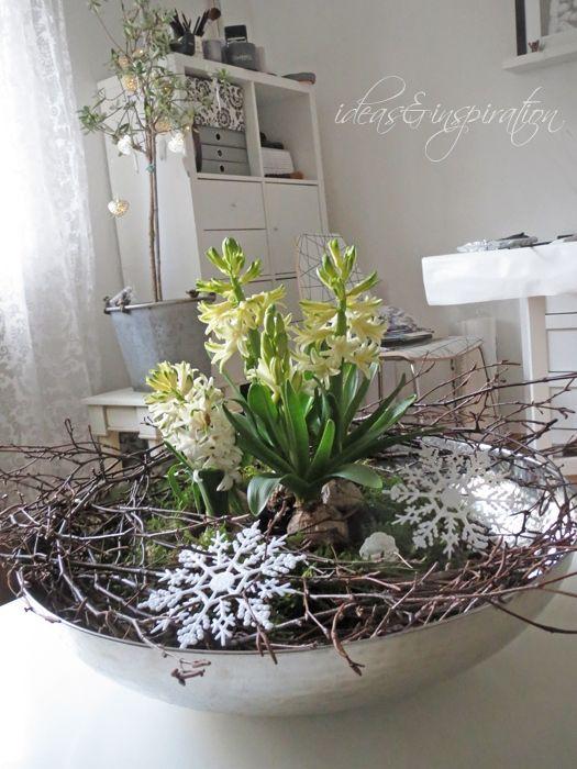 5 Genial Deko Januar Februar Deko Pinterest Christmas Flowers