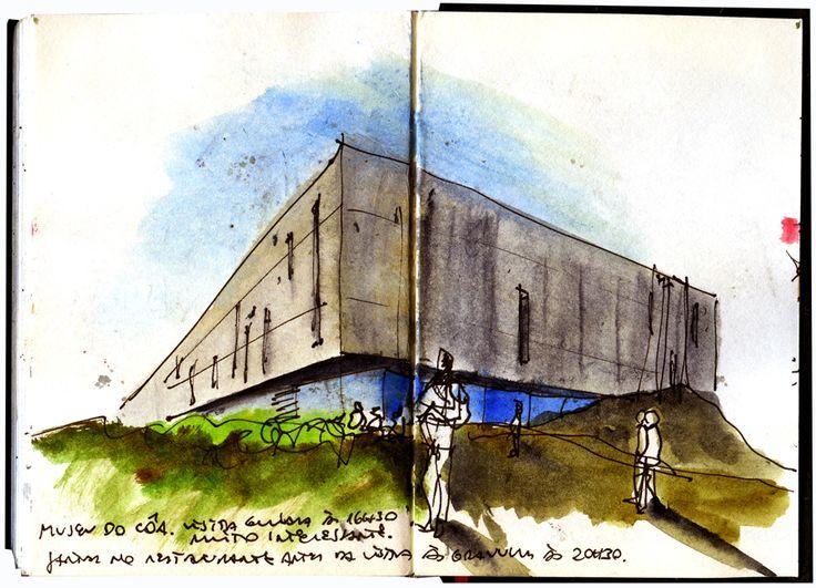 desenhador do quotidiano: Museu do Côa