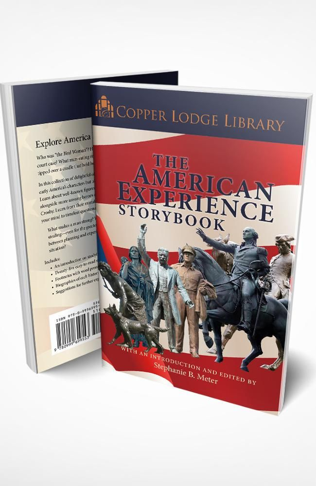 Copper Lodge Library The American Experience Storybook Storybook Teaching History American