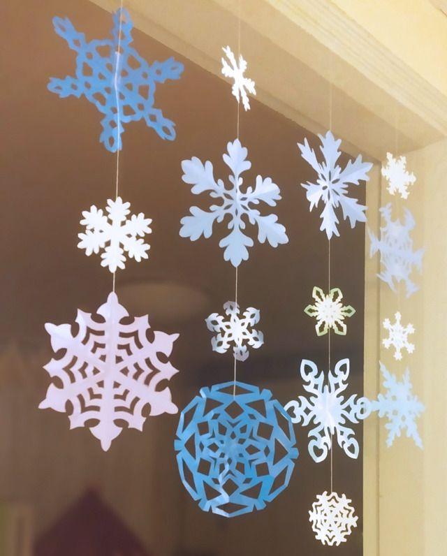 눈꽃송이(눈결정체) 만들어 겨울 소품으로 활용하기 (도안 포함) :: 너랑 나랑 그리는 그림 by Enid & Cherryyang