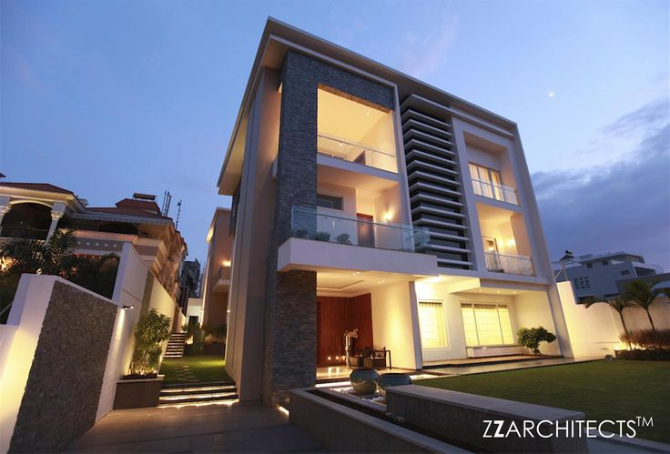 Reddy bungalow by zz architects architecture pinterest for Architecture design for 30x50 house