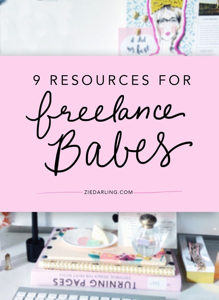 Really rad resources for the freelancing babes. | online business tips | entrepreneur tips