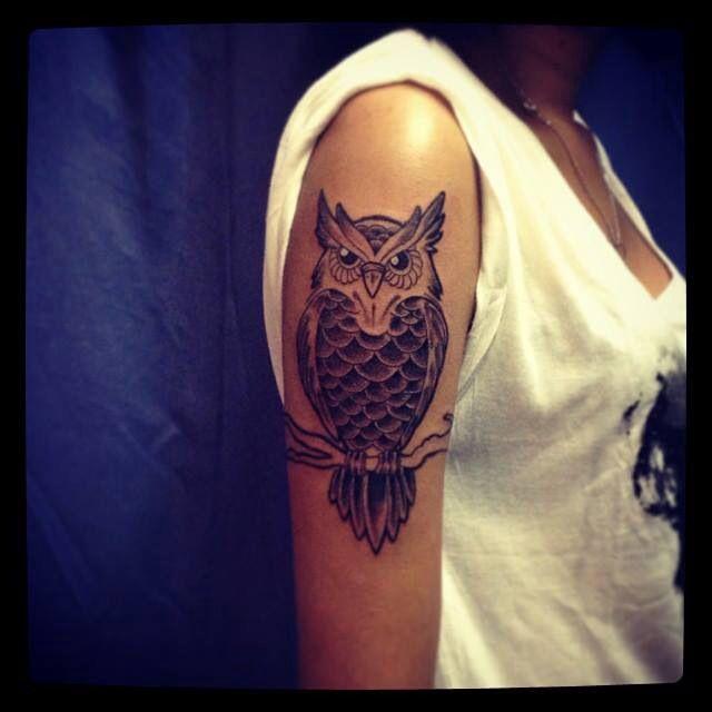 Owl arm#tattoo | Tattoo | Pinterest