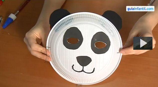 cómo hacer un disfraz de oso panda