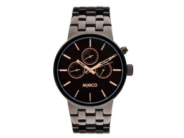 mimco. sportivo timepeace. for a masculine piece.