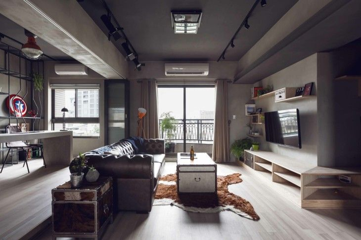 Cool Urban Apartment - pictures, photos, images
