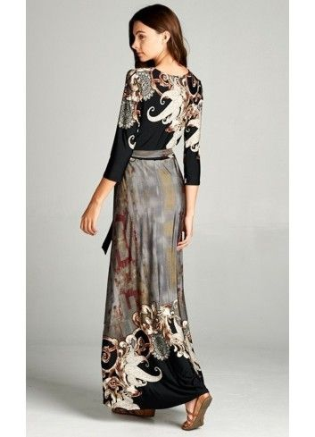 Modest Maxi Dresses   Floor Length Long Dresses For Formal and Casual Wear