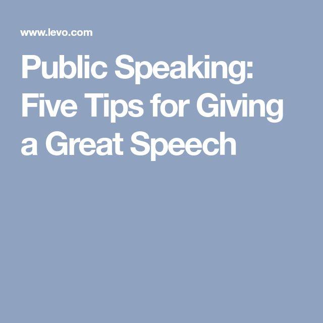The 25+ best Public speaking ideas on Pinterest Public speaking - speech format