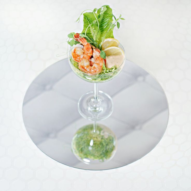 Prawn cocktail.   Orbit restaurant, Luna2 studiotel Bali. #Lunafood #food #design #cosmic #chef #prawncocktail