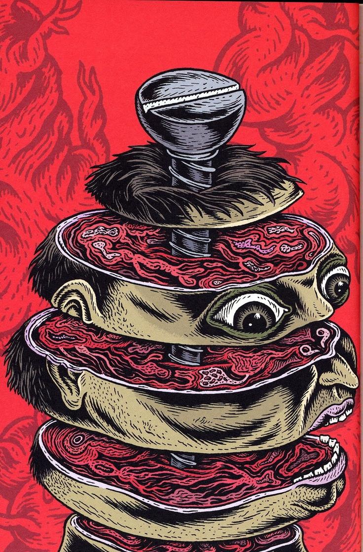 serious publishing : Spongiforme    Art : Stéphane Blanquet