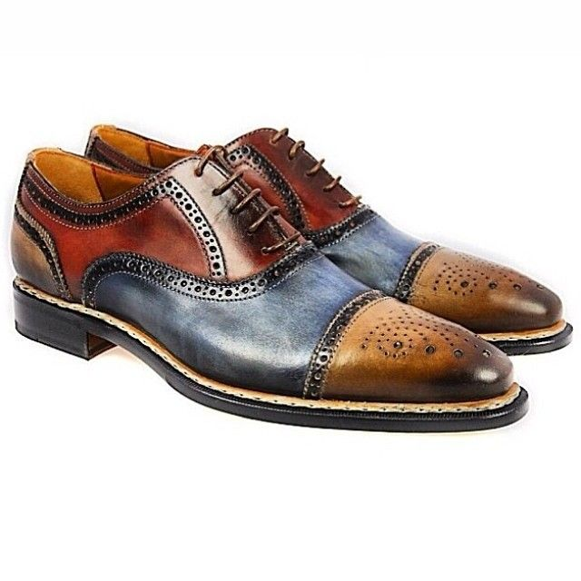 Oxford Tri-Colored Shoes!