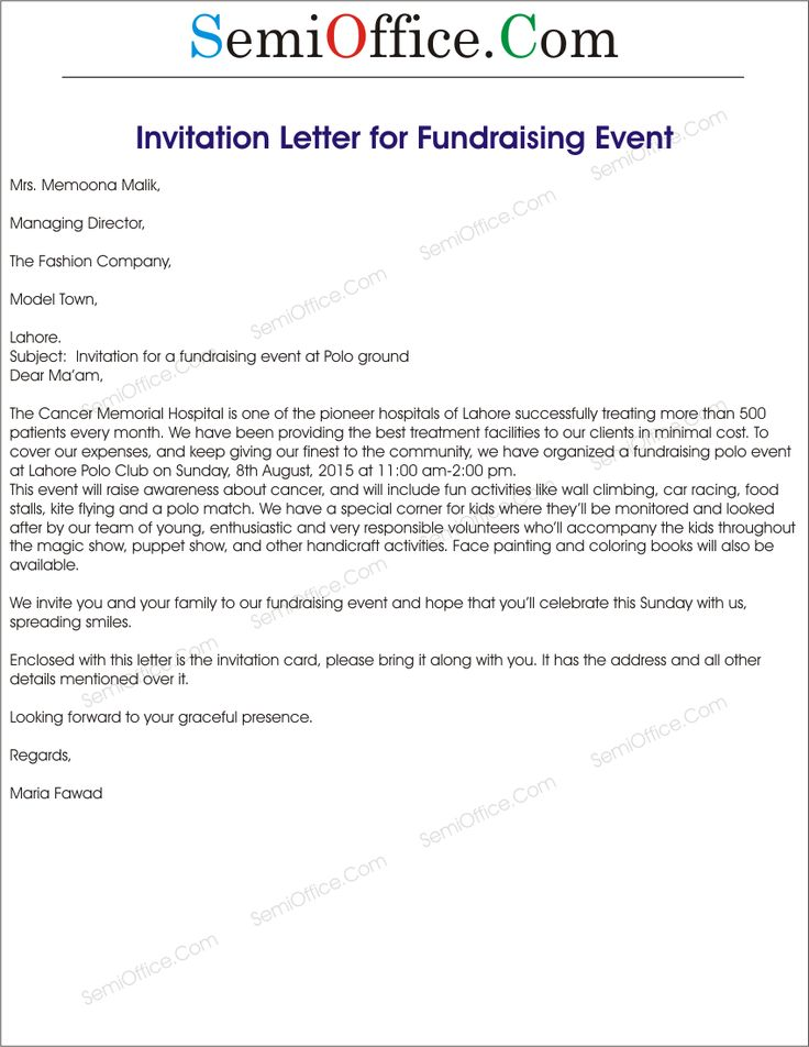 invitation letter for business event sample wedding meeting Home - event invitation letter template