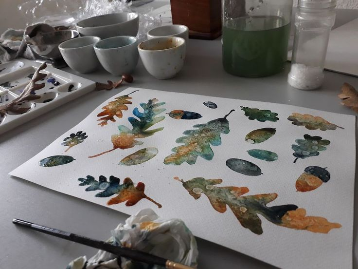 Artist Teaches Herself To Create Whimsical Left-Handed Art After A Repetitive Strain Injury Leaves Her Unable To Work