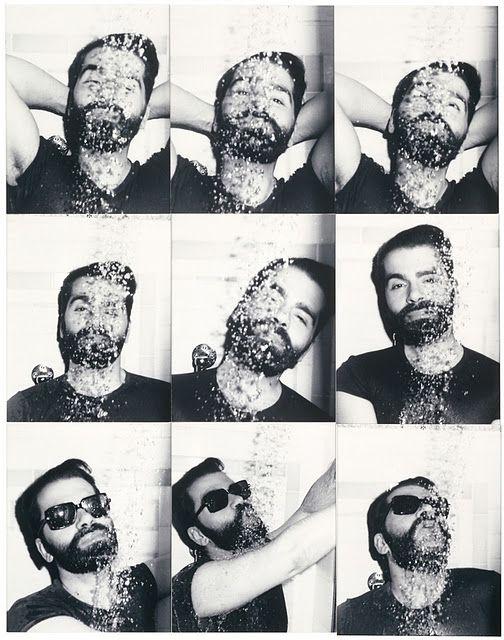 Karl Lagerfeld by Antonio Lopez, 1976.