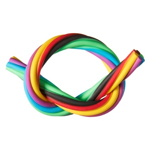 jelly snake rope eraser, available in 6 awesome colours!