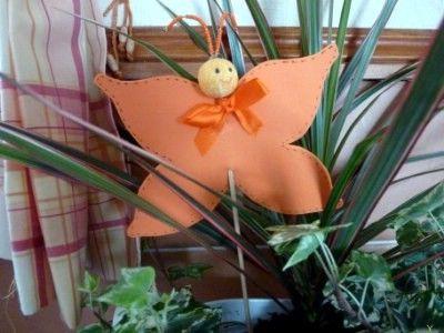 Kreatív ötletek: Tavasz - Tavaszi pillangó