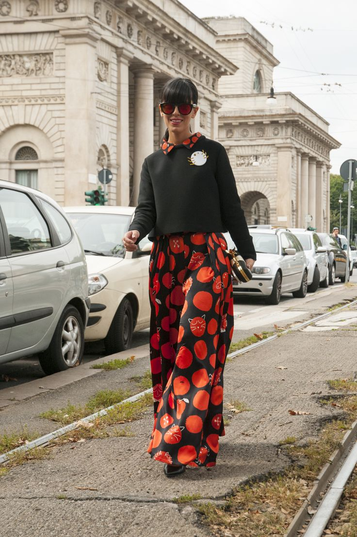 Milan Female Fashion Week SS15 - Laura Comolli @ Gucci show #mfw #milanfashionweek #gucci #outfitideas
