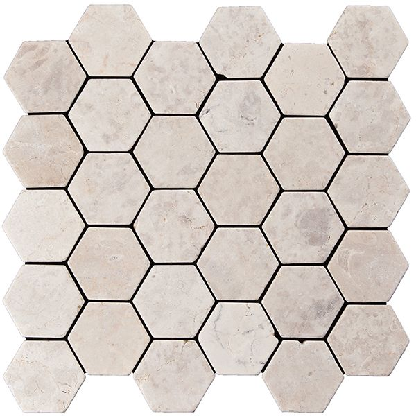 Konradssons 7270 Indostone Hexagon Billig Svensk Flis