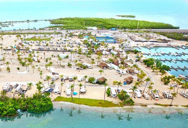 Sunshine Key Rv Resort Marina Rental Units Encore Rv Resort In Florida Keys Florida Keys Resorts Florida Resorts Florida Camping