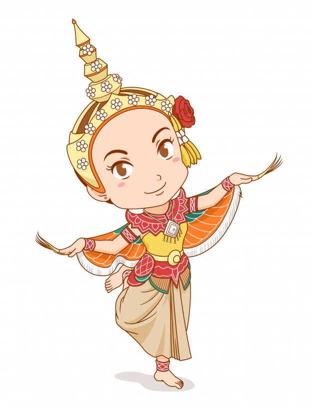 Cartoon Character Of Traditional Thai Da Premium Vector Freepik Vector Woman Crown Character Cartoon In 2020 Thai Art Cartoon Character Design Girl I like her fighting skills, they are so buttercup is simply the best cartoon network original character. cartoon character of traditional thai