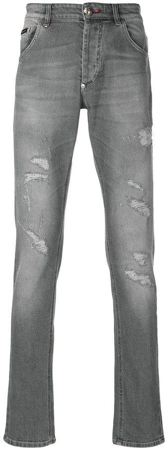 Philipp Plein Meiji super straight cut jeans