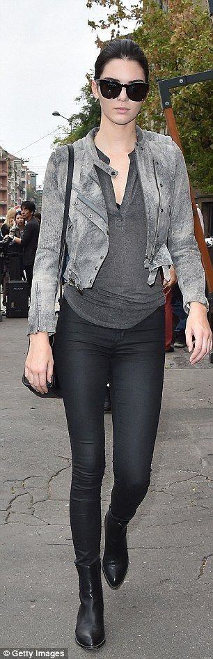 Work that pout: Kendall had no problems radiating confidence... - Kendall Jenner Style