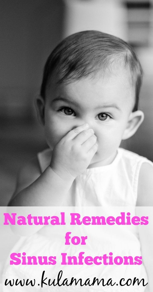 Natural remedies for sinus infections from www.kulamama.com.  This is a great list of kid-friendly remedies and supplements to help your child heal naturally, without medication.