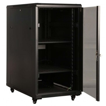 22RU 800mm Deep Server Rack Cabinet NOW AT $572.00 ex GST #EasyToUse #Technology @4Cabling