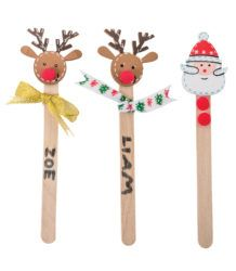 Cute Christmas Character Bookmarks & Puppets!