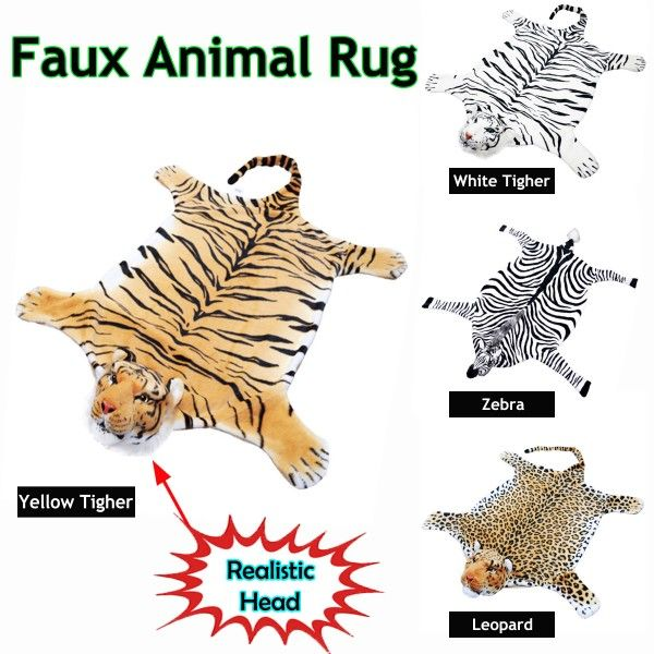 Faux Animal Floor Rug by Accessorize is a perfect home decor addition for someone who loves animal stuff.