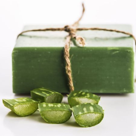 # Skincare Recipes - Aloe Vera Make Soap for Skin Care - Recipe & An ...  -  Hautpflege-Rezepte
