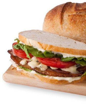 BBLT Sandwich - Bacon, Blue Cheese, Lettuce, Tomato | Recipes - Salads ...