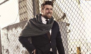 Plus size model Zach Miko has modelled for Target, one of the US's biggest retailers.