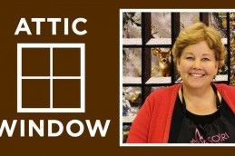 17 Best Images About Attic Windows Quilts On Pinterest