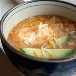 "Slow-Cooker Chicken Tortilla Soup | ""OMG this was just fantastic! My husband couldn't have enough of it! He told me it's something that a Mexican restaurant would have."""