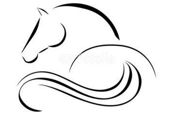 Horse logo …